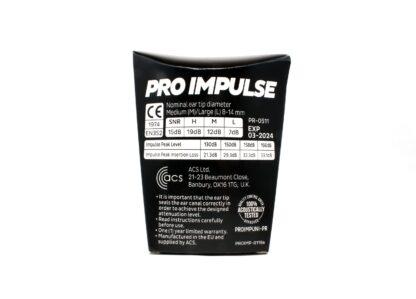 pro impulse universal back