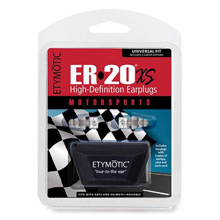 ER20XS earplugs front