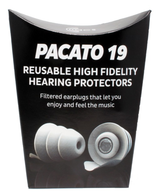Pacato 19 - Natural Sounding, Generic fit Earplug
